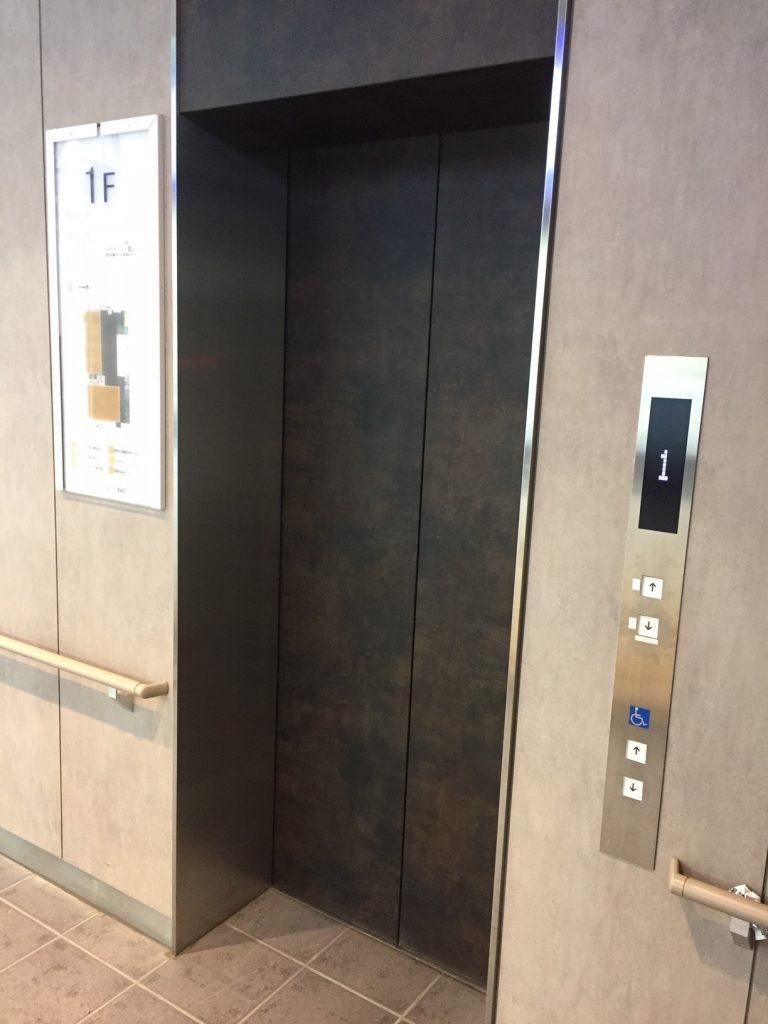 cocobunji EAST エレベーター