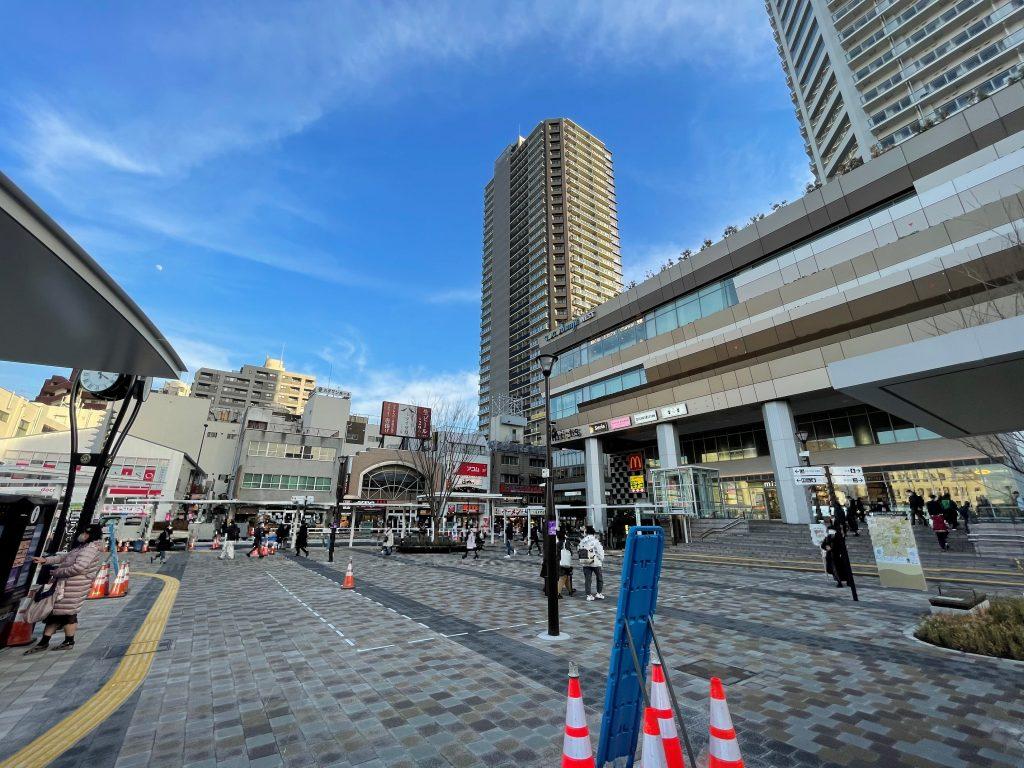 国分寺駅北口広場・イベントスペース※2021年1月当社撮影